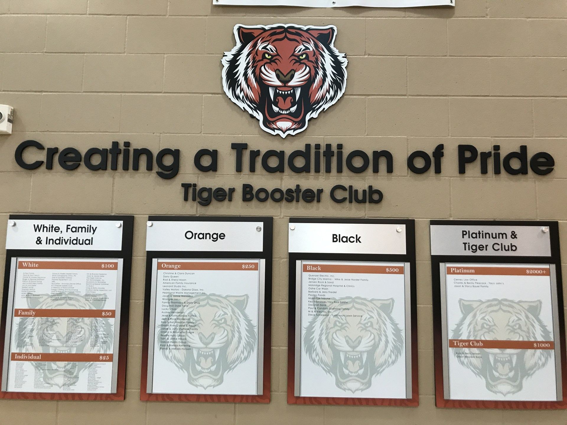 Tiger Booster Club