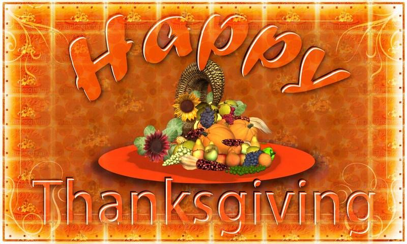 Thanksgiving Holidays-Nov. 20-24 Thumbnail Image