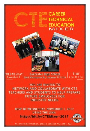 CTE Business Mixer Flyer - November 8