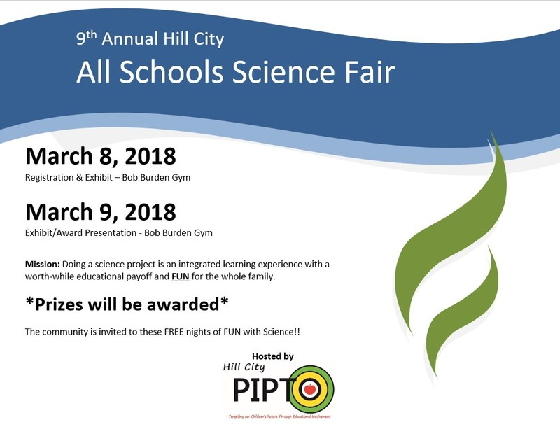 9th Annual PIPTO Science Fair March 8th - March 9th! Thumbnail Image