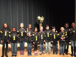 Reading Bowl 1st and 3rd place winners.