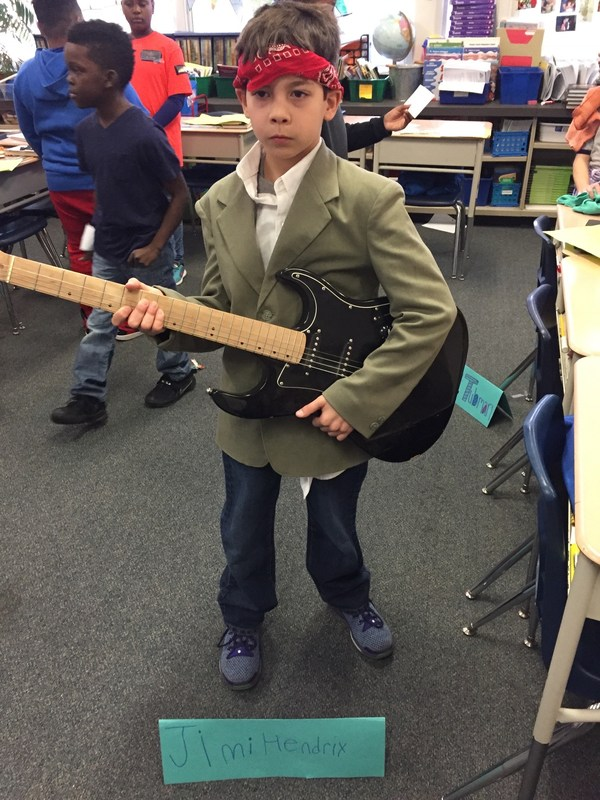 5th Grade Wax Museum Thumbnail Image