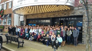 DTSD 7th and 8th graders getting ready to see Hidden Figures - 2.jpg