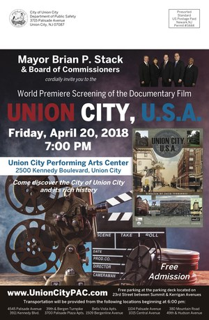 Union City, USA movie premiere flyer