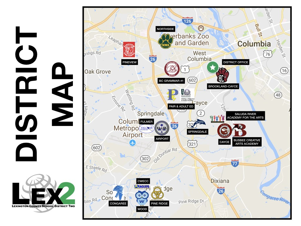 Lex2 District Map