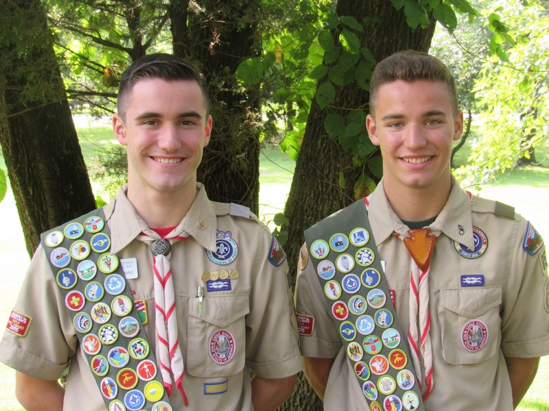 Germano Brothers Eagle Scouts