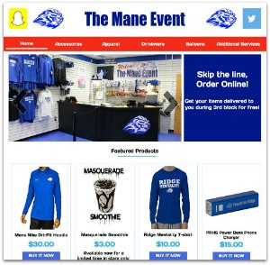 NEW School Store Website Featured Photo