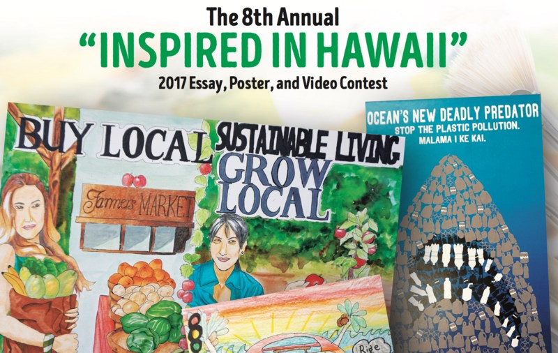 "8TH ANNUAL ""INSPIRED IN HAWAII"" ESSAY, POSTER AND VIDEO CONTEST Featured Photo"