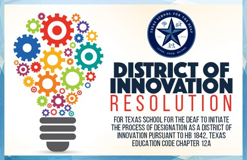 District of Innovation Resolution