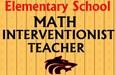 Math Interventionist Teacher Needed