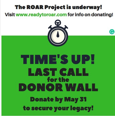 Last Call for the Donor Wall Featured Photo