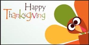Turkey w/ Happy Thanksgiving