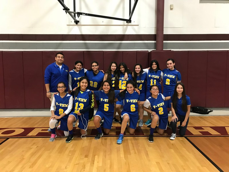 Congratulations go out to the 8th grade girls basketball team for defeating Mission K-White last night 36-16 and winning district. Thumbnail Image