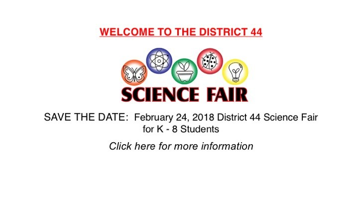 D44 Science Fair Coming in February! Thumbnail Image