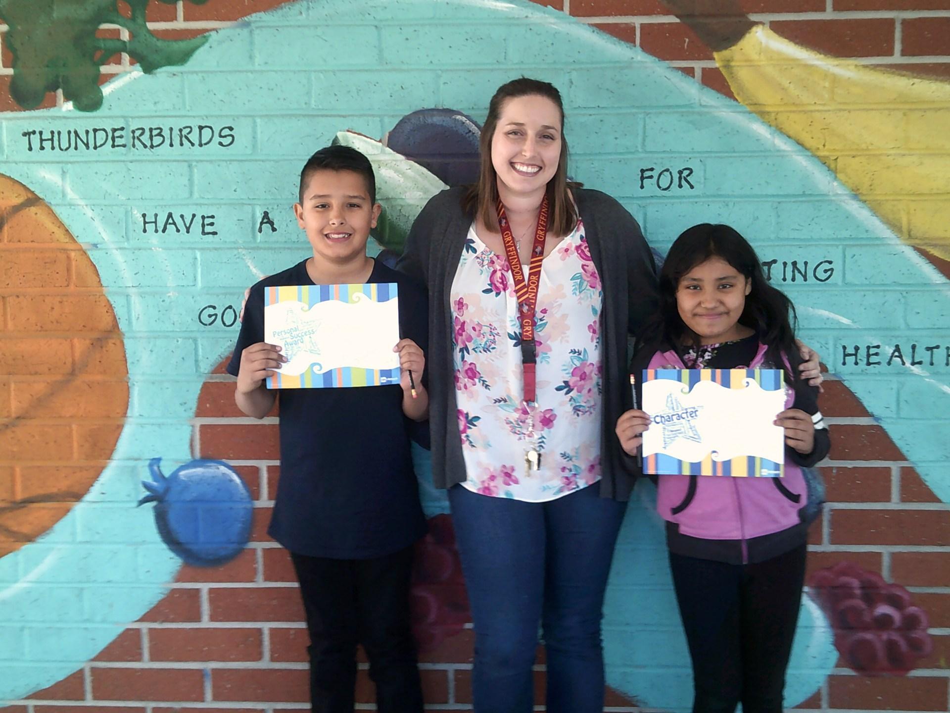 Mrs. Kapustin's 5th Grade February Honorees