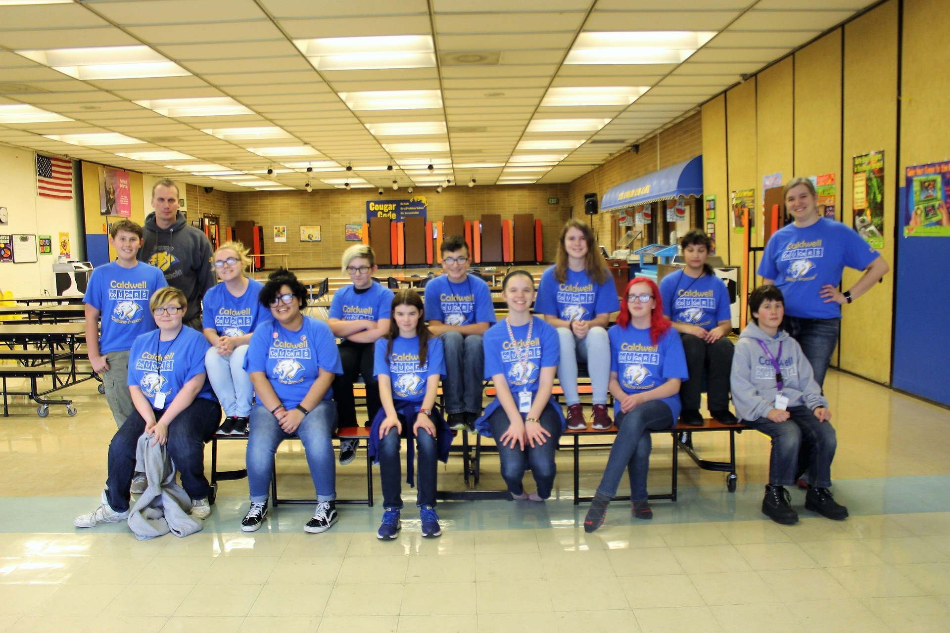 Academic Bowl Team Photo