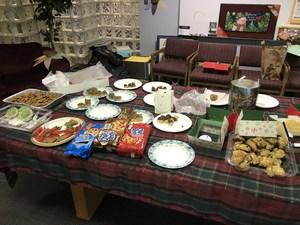 PTSO Cookie Exchange Display