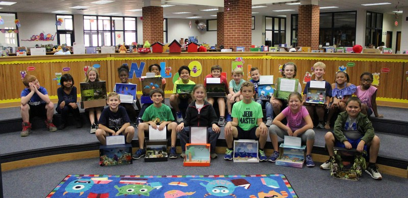 Third Graders Learn about the Habitats of Georgia Featured Photo