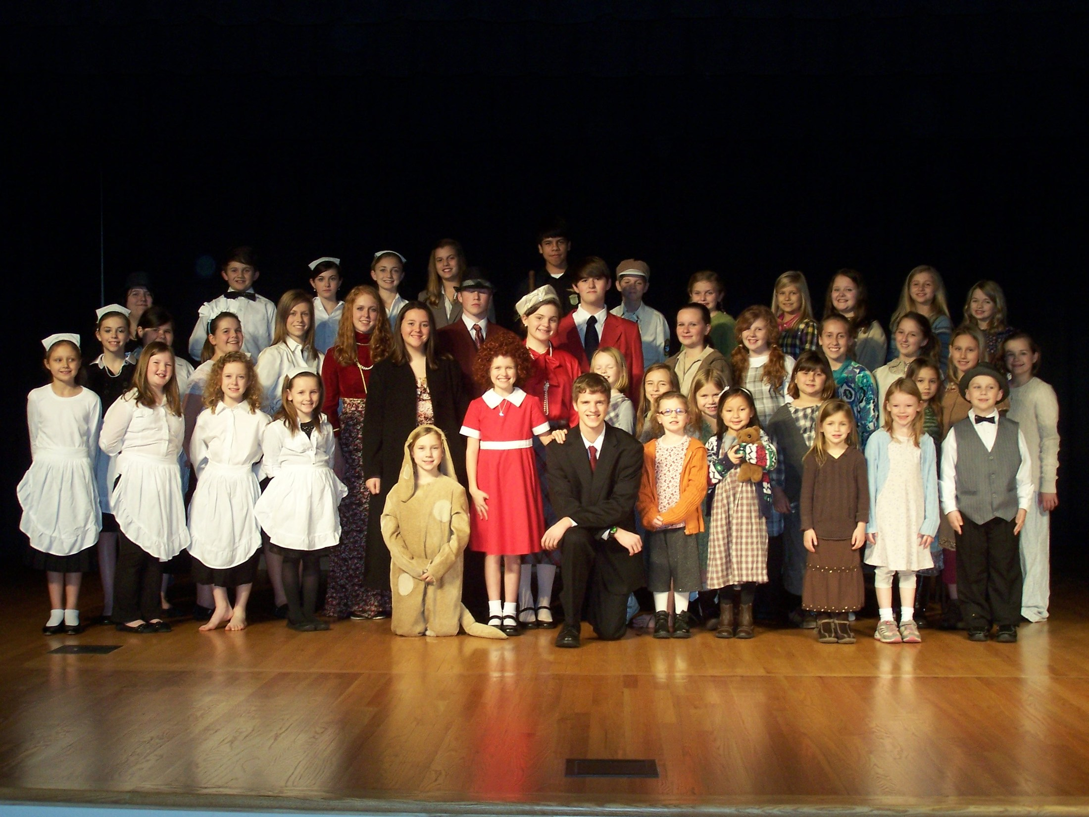 Cast photos from the 2015 Children's Theatre Production of