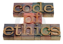 code of ethics image