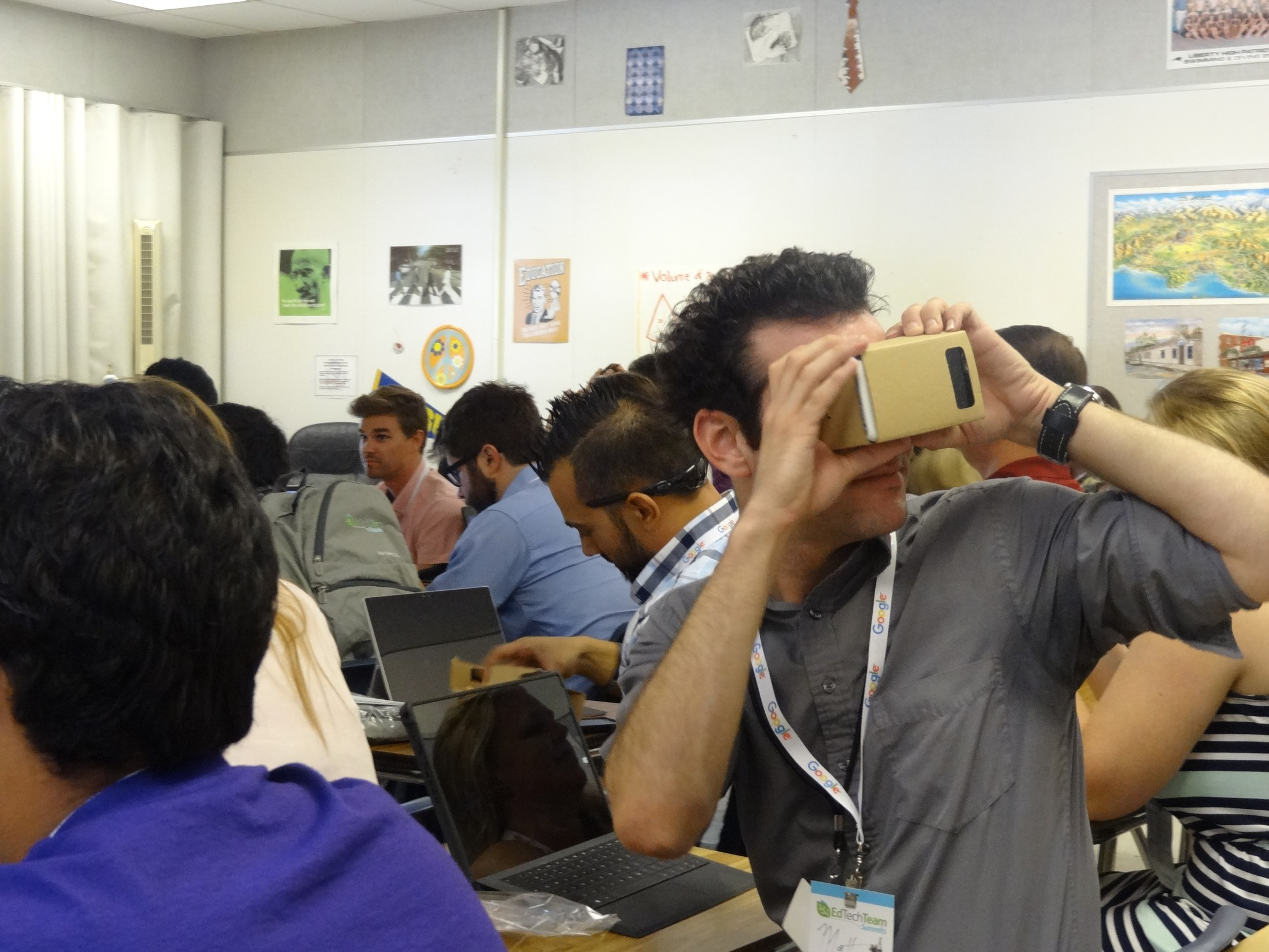 Google Cardboard Training at GAFE Summit