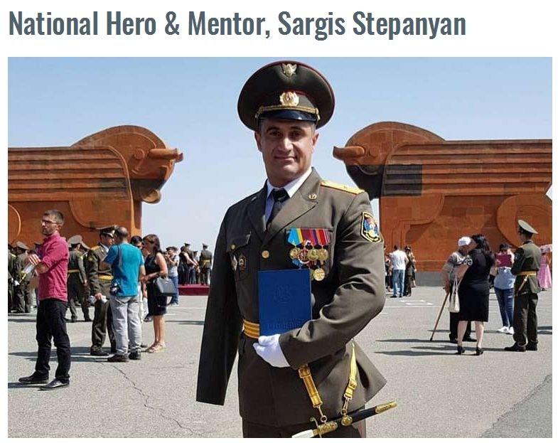 National Hero and Mentor, Sargis Stepanyan Featured Photo