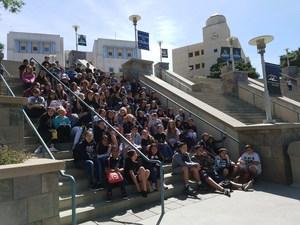 Dartmouth AVID visits Cal State San Marcos