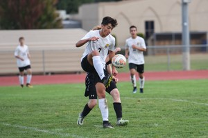 PCS Boys soccer game September 21, 2017