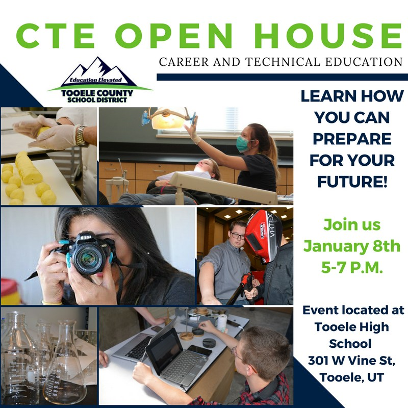 CTE Open House at Tooele High School