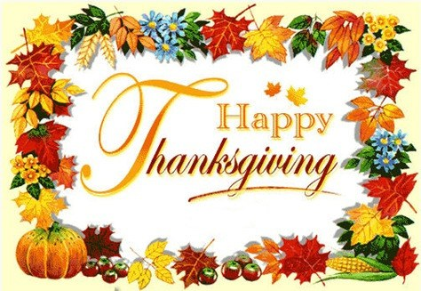Thanksgiving Break | Nov 19-23 Thumbnail Image