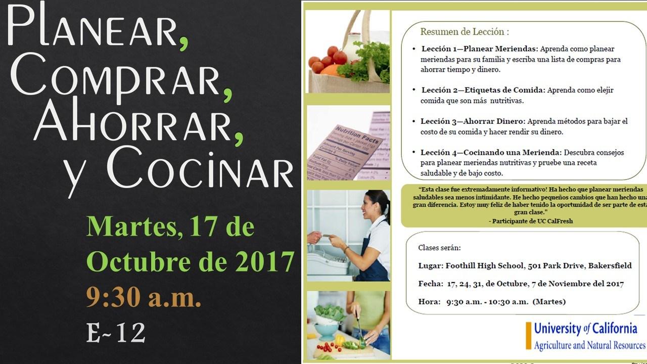 Workshop Information 2 In Spanish