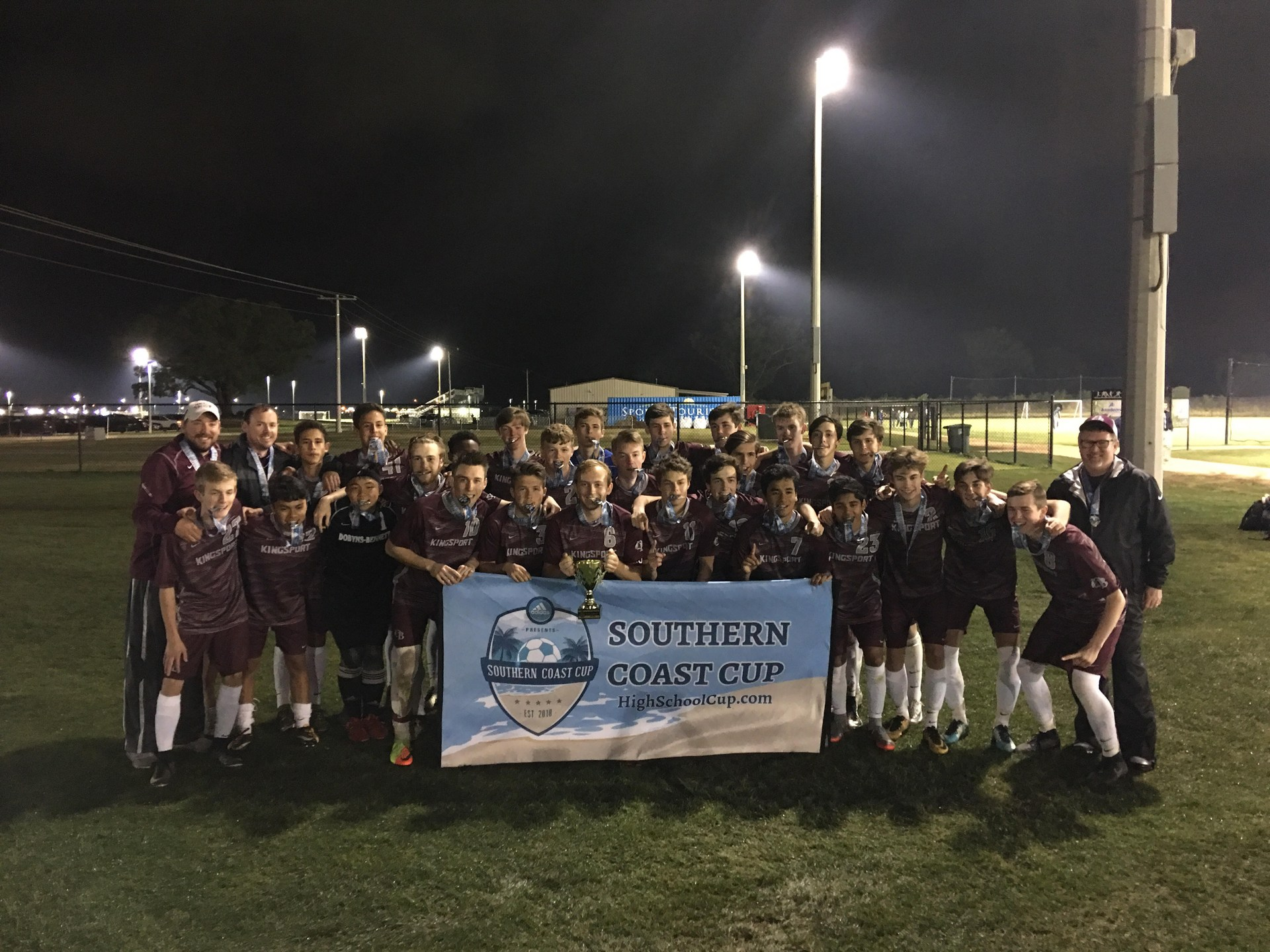 2018 Southern Coast Cup Moccasin Bay CHAMPIONS!!!