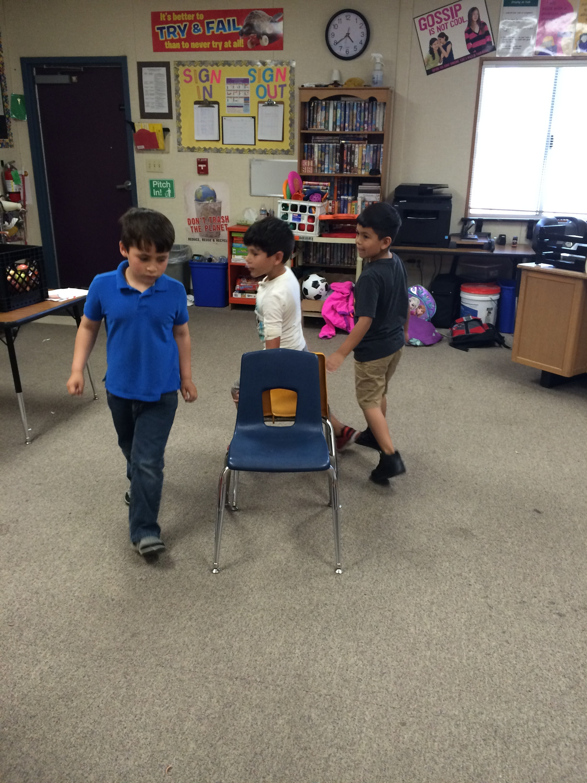 ASP students musical chairs