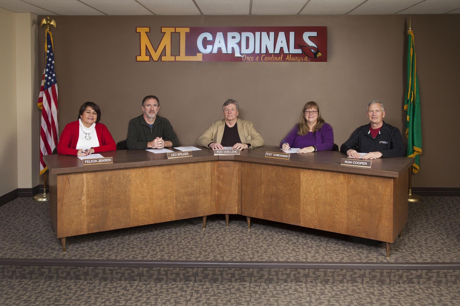 Current Medical Lake School Board of Directors