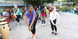 Live on the Lawn today with Drums and Dance! Checkout photos Featured Photo