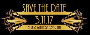 Blue and White Ball 2017