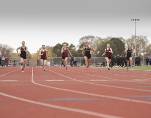 HHS girls track