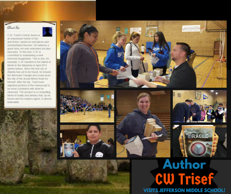 Author C.W. Tressif Visits JMS! Thumbnail Image