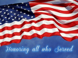 American Flag - Honoring All Who Served