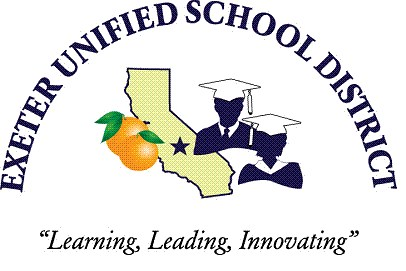Exetre Unified School DIstrict Logo