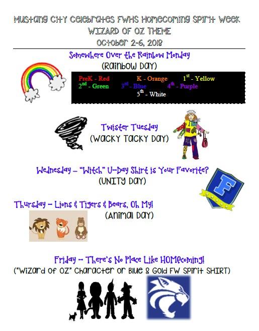 Fayette-Ware Homecoming Spirit Week Thumbnail Image
