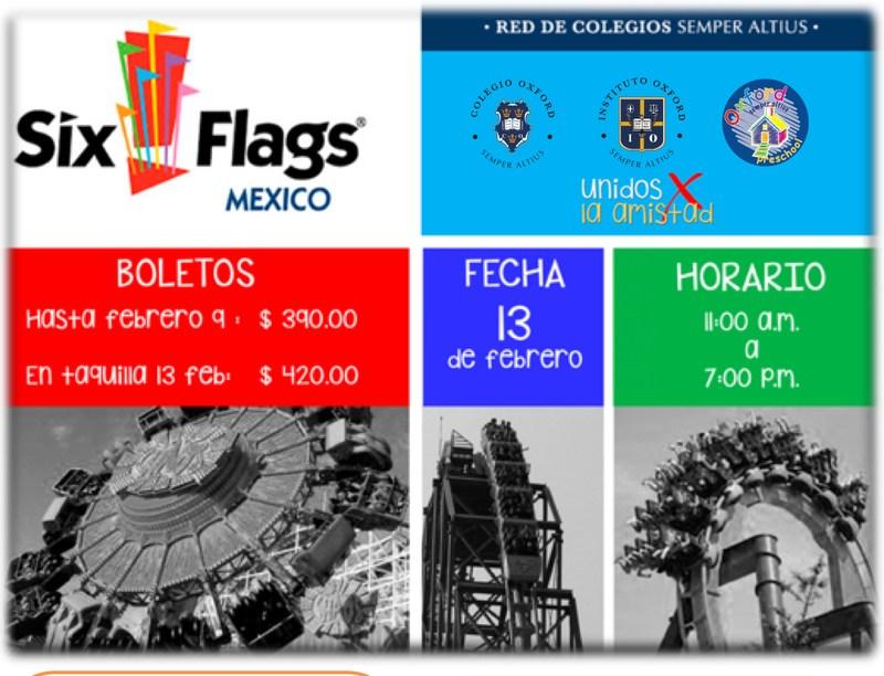 Unidos por la amistad Six Flags Featured Photo