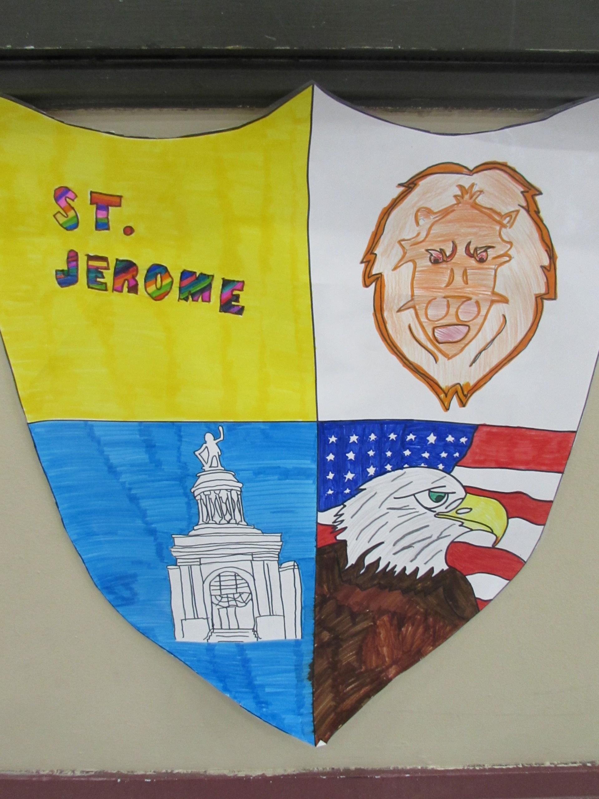 St. Jerome Crest