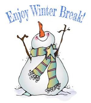 snowman winter break