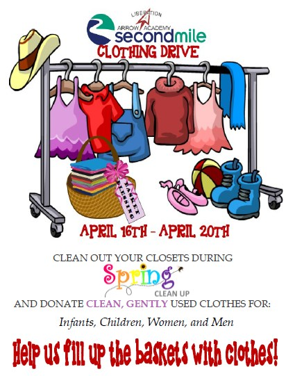 Spring Baskets Clothing Drive Featured Photo