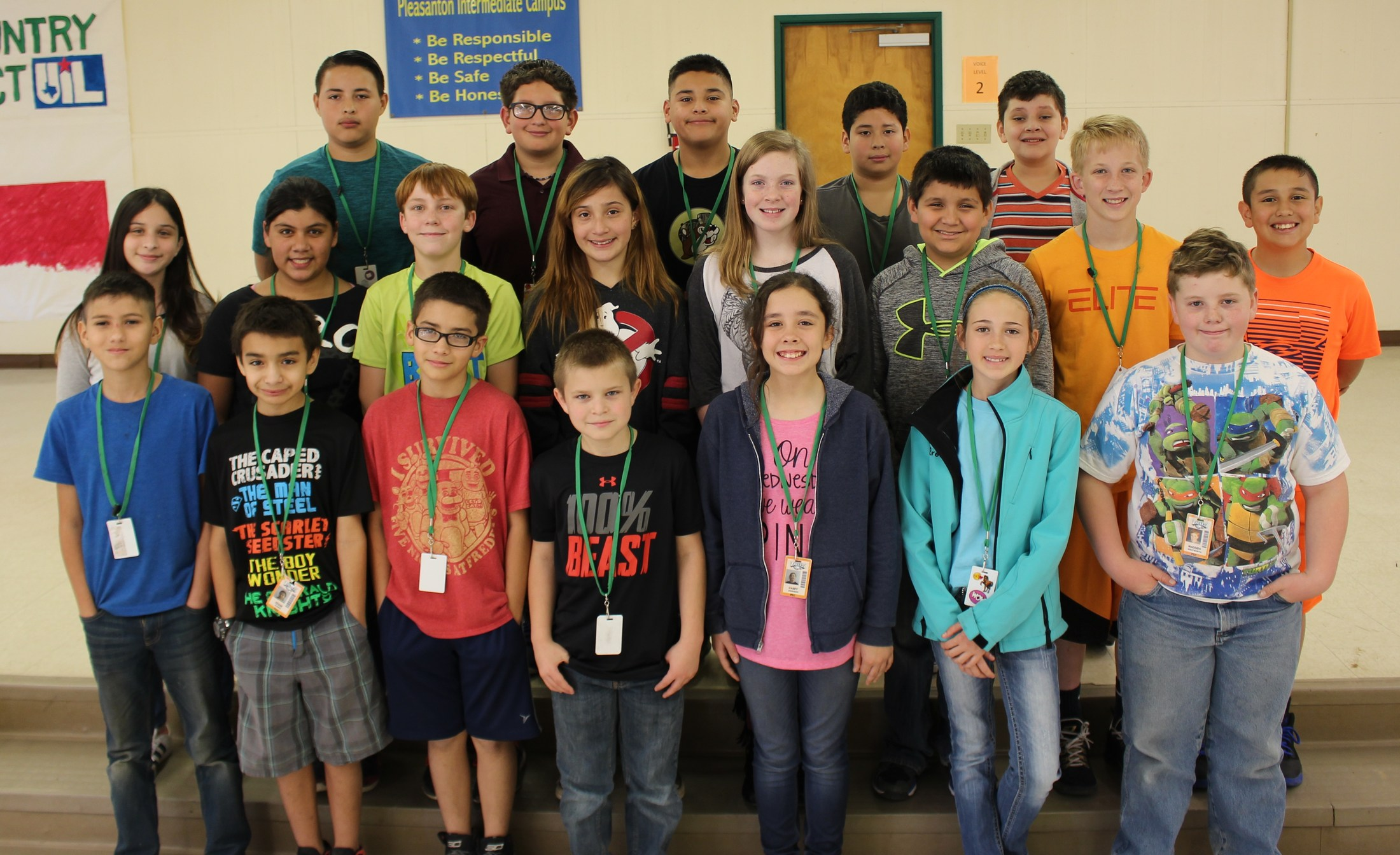 6th grade students who met their Q2 AR goal.