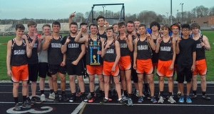 2018 Wabash High School Boys Track Team
