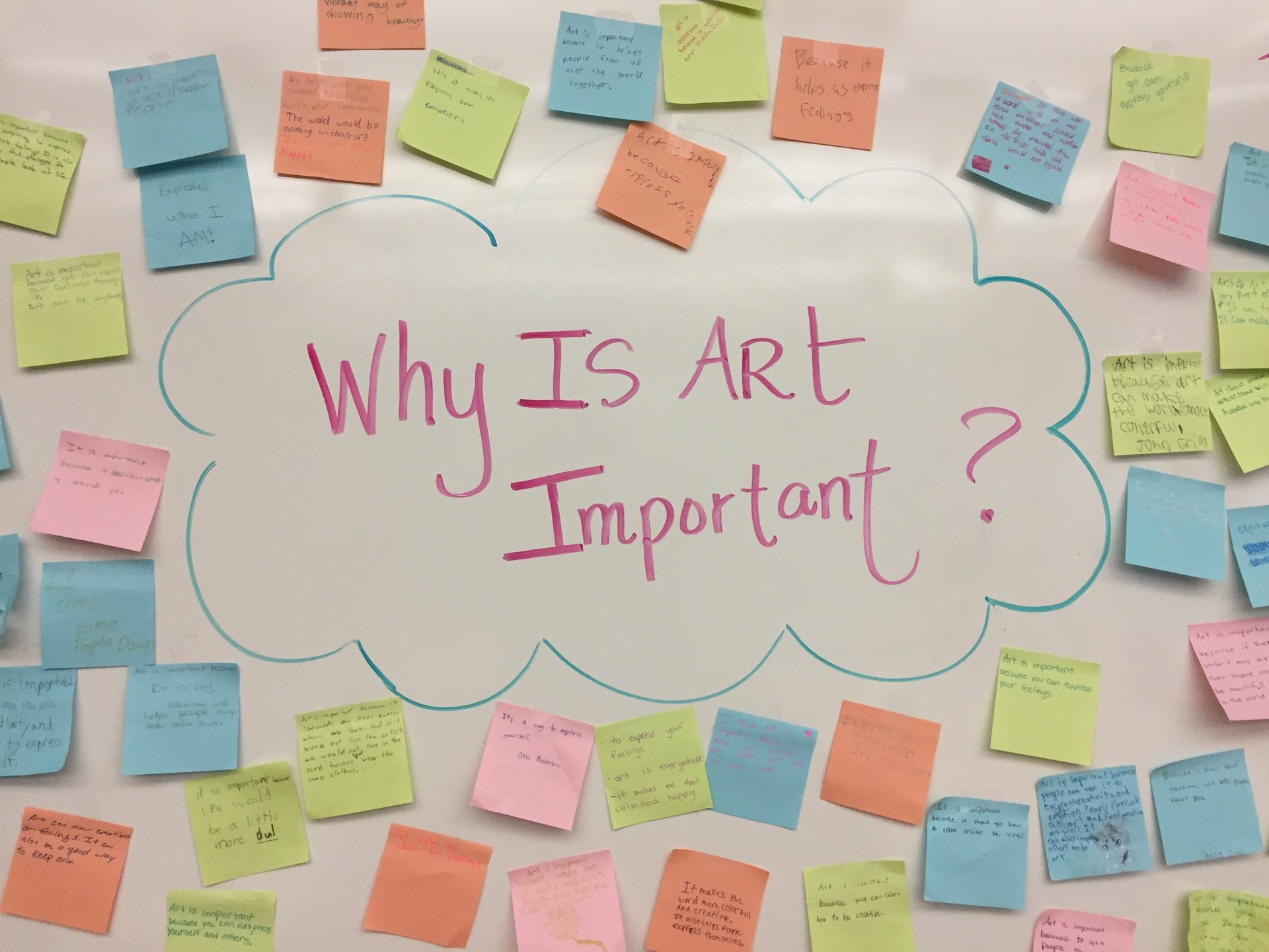 Why is art important to you?