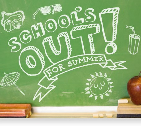 School is out for summer! Thumbnail Image