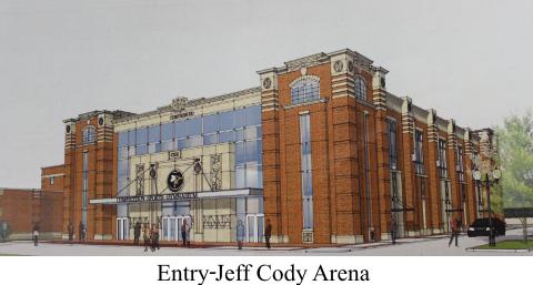 Entry Jeff Cody Arena